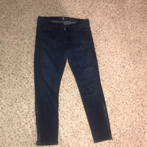 7 for all mankind denim | size: 32